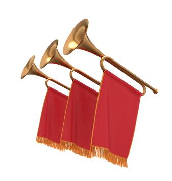 royal trumpet sound effect