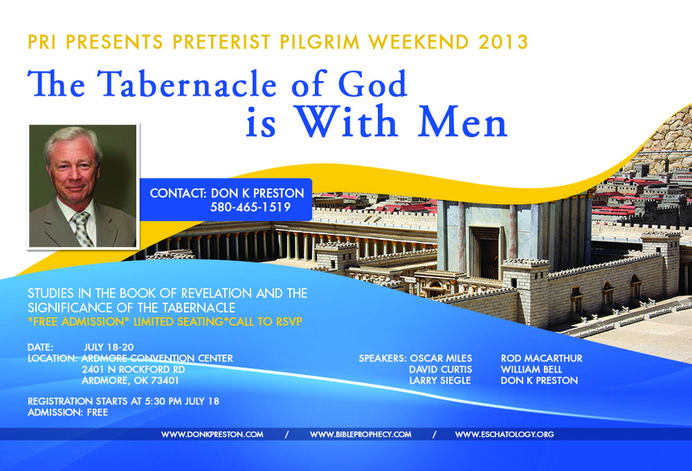 The Tabernacle of God is With Men, Rev. 21:3
