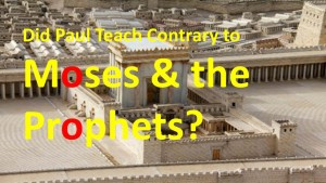 Paul Versus Moses Debate