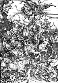Four Horsemen of the Apocalypse, by Albrecht D...